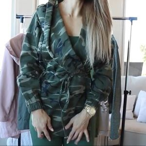 Camouflage Tie Jacket Fashion Nova